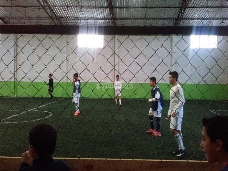 entrenamiento juvenil