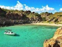 Tour en barco niños a Isla Danzante con snorkel