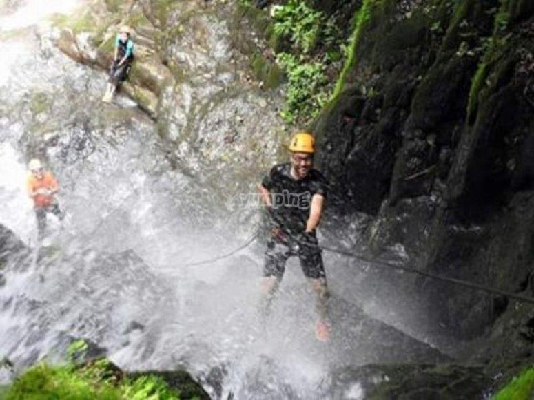 Descending cascades