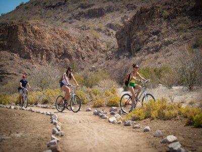 Guided tour by bike in Islas de Loreto