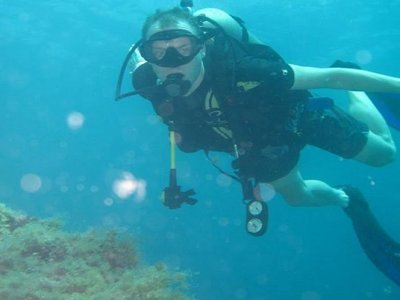 Updating course for certified divers. Loreto.