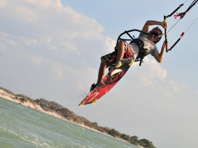 1h advanced kitesurfing lesson, Isla Blanca