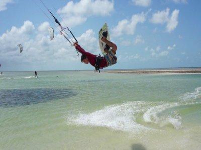 Clase 1h privada Avanzado c/propio Kitesurf Cancún
