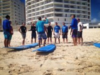 Surfing lesson for groups in Cancún - 2 hours