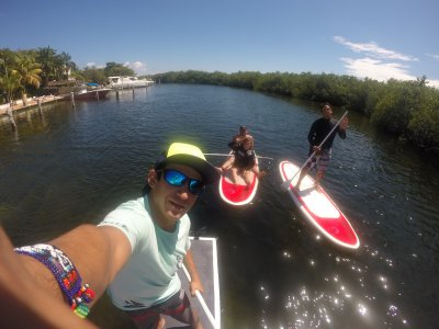 2h30min SUP tour in Cancun lagoon