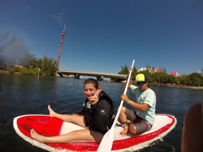 1 hour renting Paddle Board. Cancún