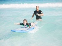 2 hours private  surf  class in Cancun
