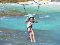 Royal tour for kids: Parque Garrafón, Isla Mujeres