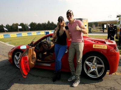 Manejo Ferrari Spider durante 15 minutos CDMX
