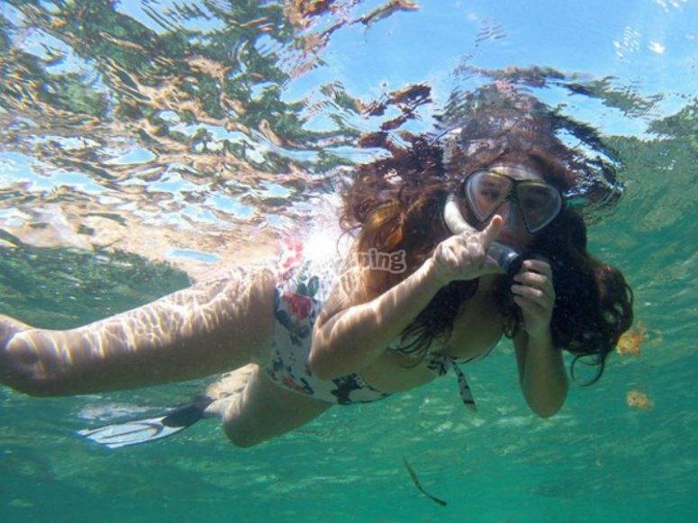 Snorkeling en tour privado