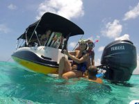Private boat, snorkel & wakeboard, 6 h Cancún