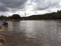 Presa donde se hace kayak