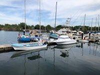 Embarcaciones en San Blas