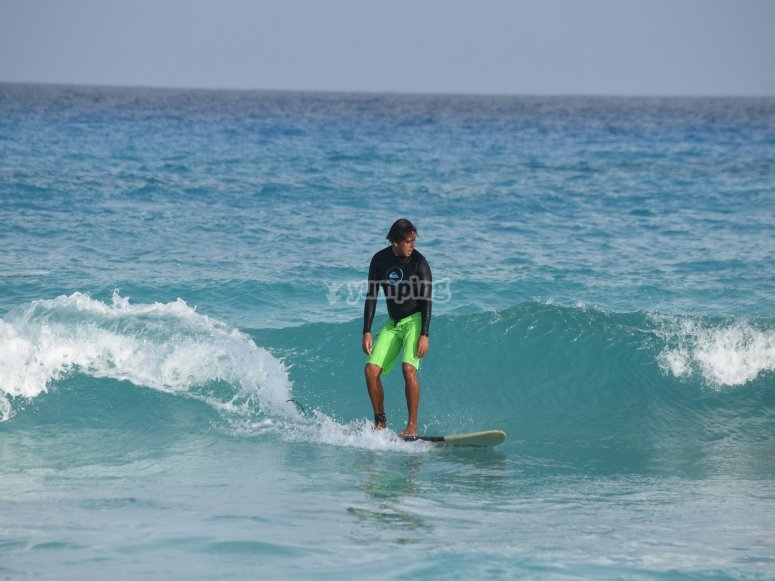 El rey de las olas