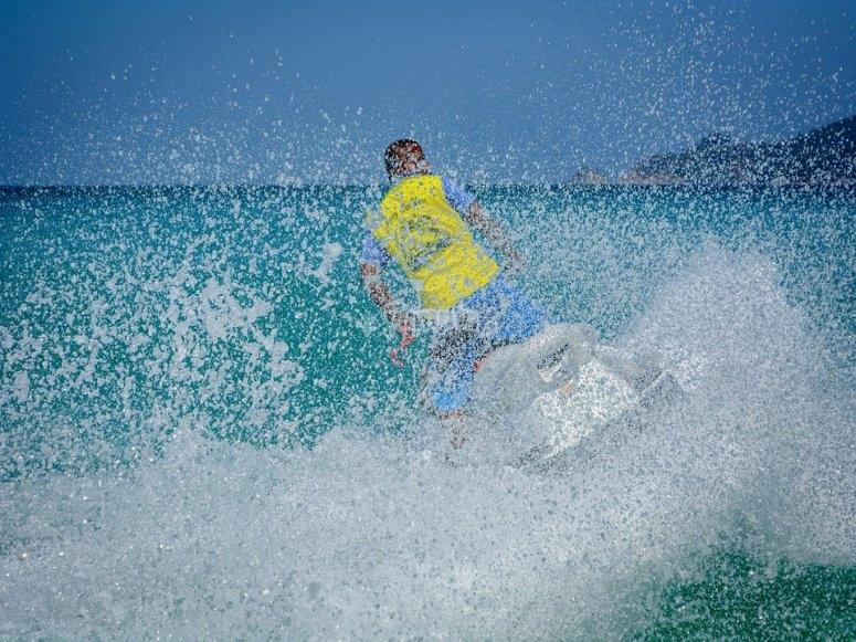 Moto acuatica en cancun