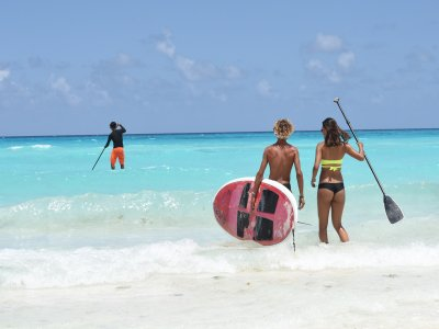 Surf board, SUP and Boogie rental, Cancun