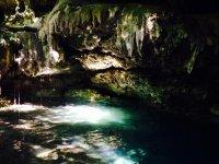 Cenote in Playa del Carmen