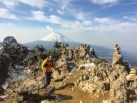 Climbing the Iztaccihuatl