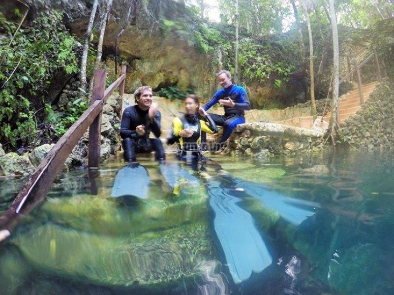 cursos en cenotes