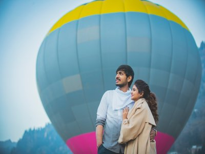 Private romatic balloon ride in San Miguel Allende