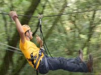 Treetop adventure + abseiling in Tepic, Nayarit