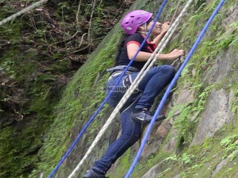 escalada para valientes
