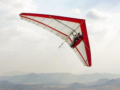 Hang-gliding flight with video in Monterrey 25 min