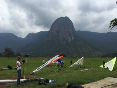 Intensive hang glider course Monterrey Lv 1-2