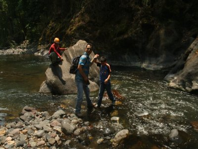 Rappel and bike tour in Sifón River for 2 days