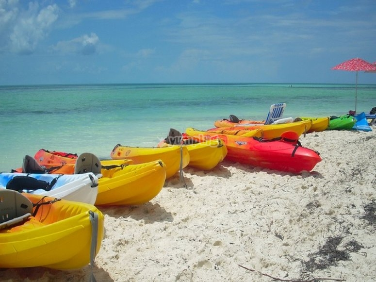 kayaks de playa