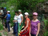 Caminatas con grupos infantiles