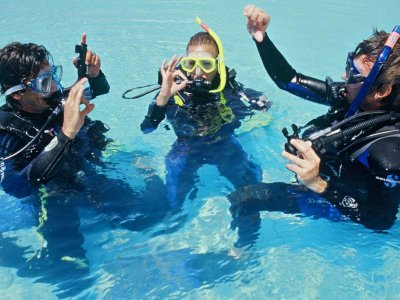 Open Water PADI certification course. Los Cabos.