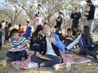 picnic en plena naturaleza
