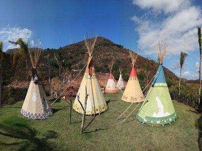 Las Cañadas Campamento Campamentos Multiaventura