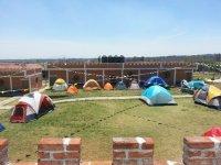 El acampado