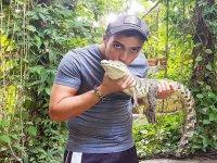 Besa al caiman