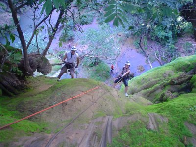 2-day canyoning + spelunking, Cascades of Granada