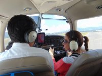 A plane pilot for one day in the state of Mexico