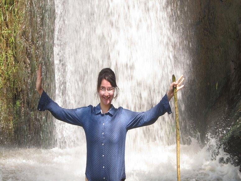 Chapuzon en las cascadas
