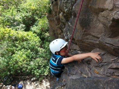 rock climbing 4h Rivera de Chapala