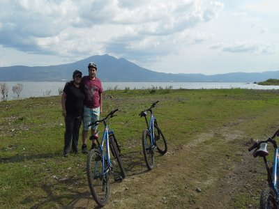 Cycling route in Chapala