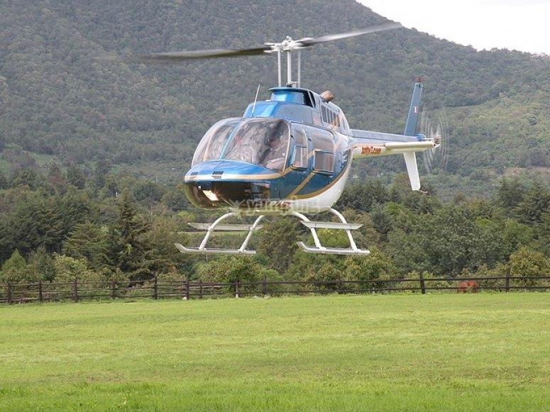 vuelos en helicoptero caribe