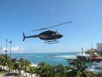 vuelo helicoptero en cancun