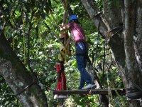 Circuito Canopy en Jalcomulco 10 desafíos aéreos