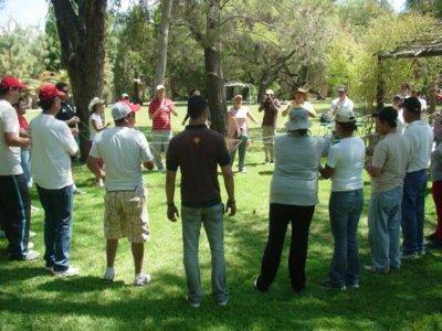 8h teambuillding in Hacienda Sepulveda