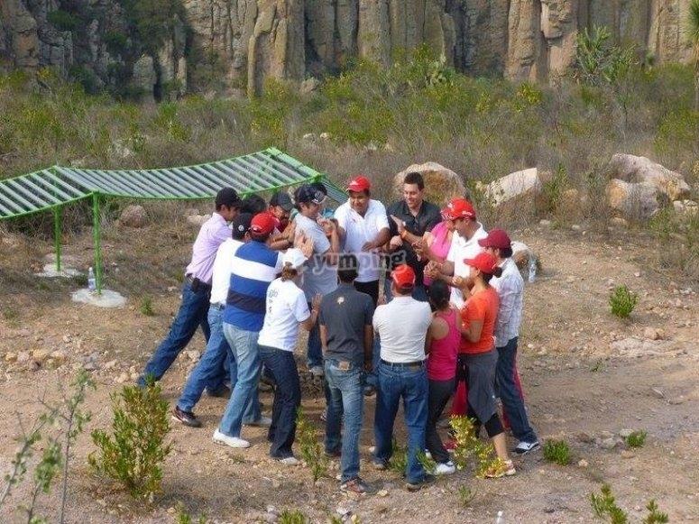 Activities at El Salto