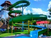 Water park in Termas del Rey