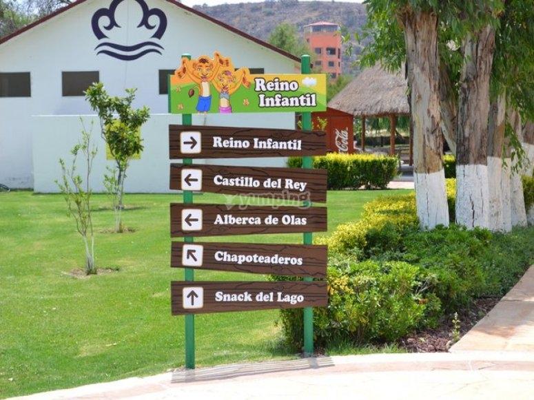 areas del parque