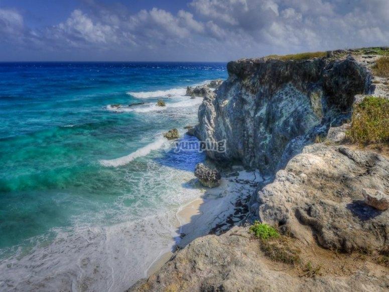 Beaches of the Isla Mujeres