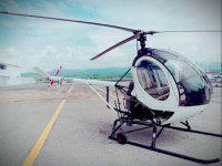 A 15-minute helicopter flight in Tequesquitengo